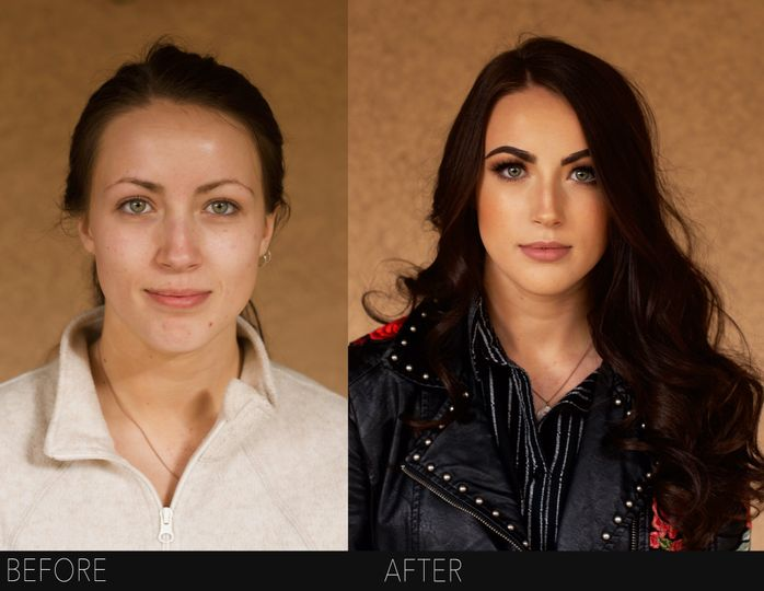 Utah makeup artist hair