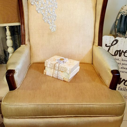 The Eleanor wing back chair