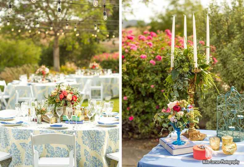 elegant details events table decor