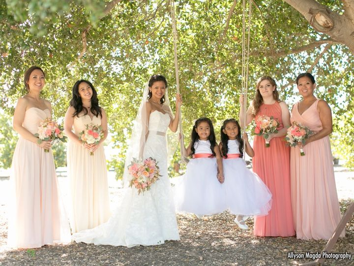 Tmx Peach And Coral Bridal Party 51 102955 158690879099229 Grover Beach, California wedding florist