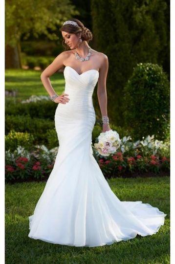stella york sweetheart neckline wedding dress styl