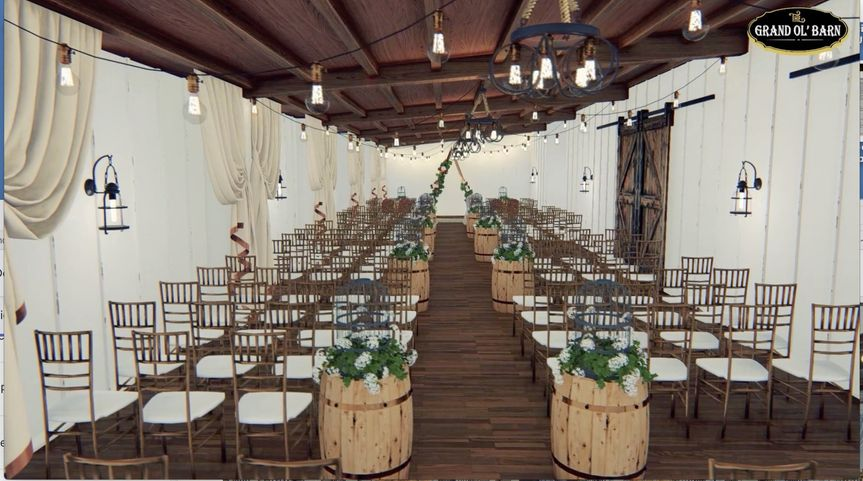 Indoor & Outdoor ceremony