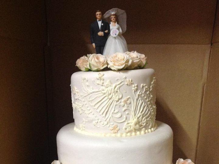 Tmx 1386880300383 Chrissy  Kyl Quincy wedding cake