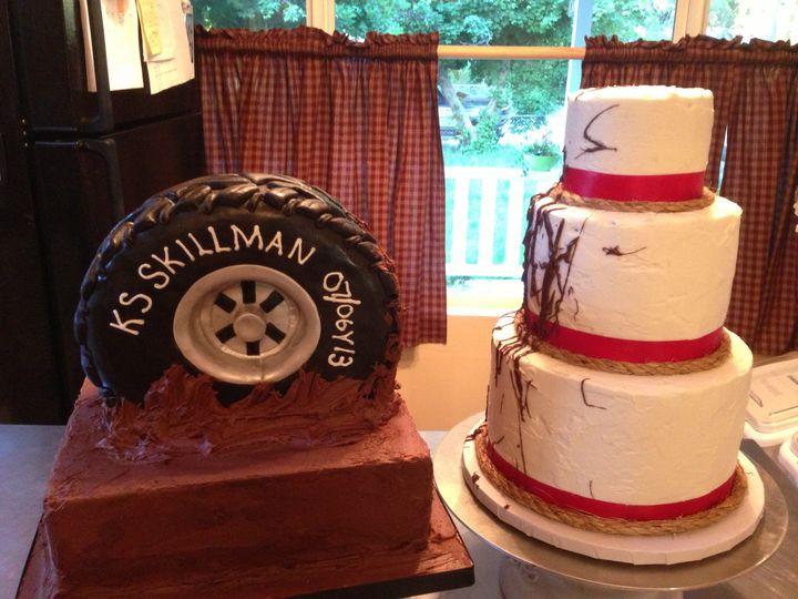Tmx 1386880361314 Img535 Quincy wedding cake