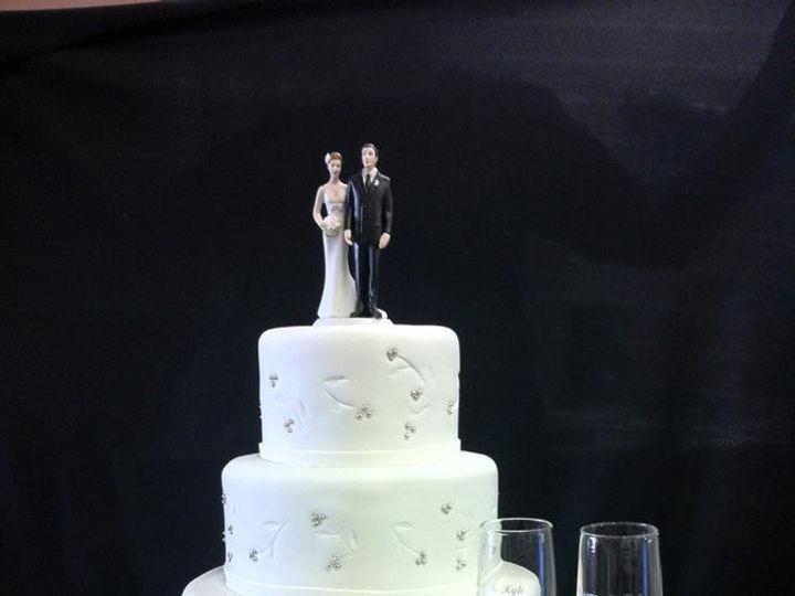Tmx 1386881407307 Cheyanne  Kyl Quincy wedding cake