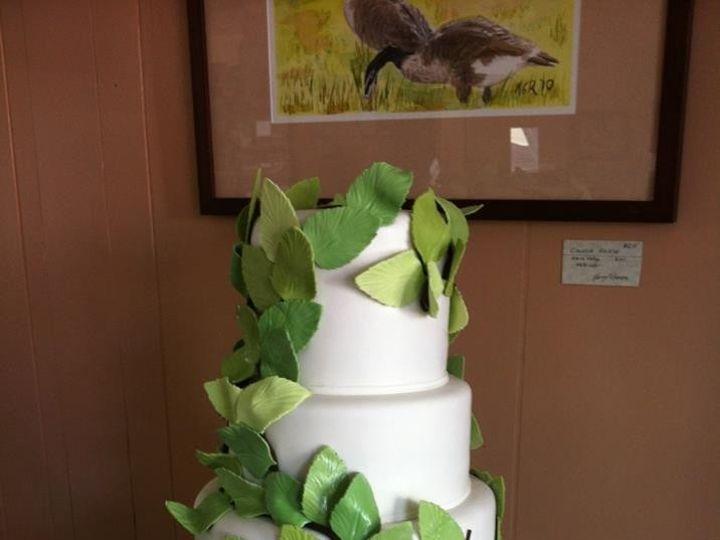 Tmx 1386881661280 Leaf Wedding Cak Quincy wedding cake