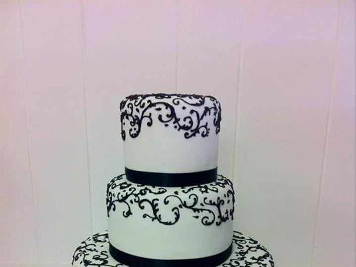 Tmx 1386881683826 Lindsay  Davi Quincy wedding cake