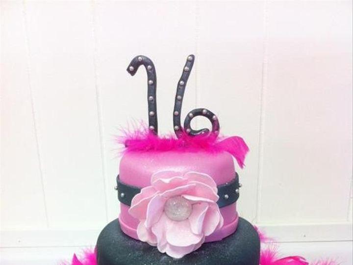 Tmx 1386883261166 Bling Sweet 1 Quincy wedding cake