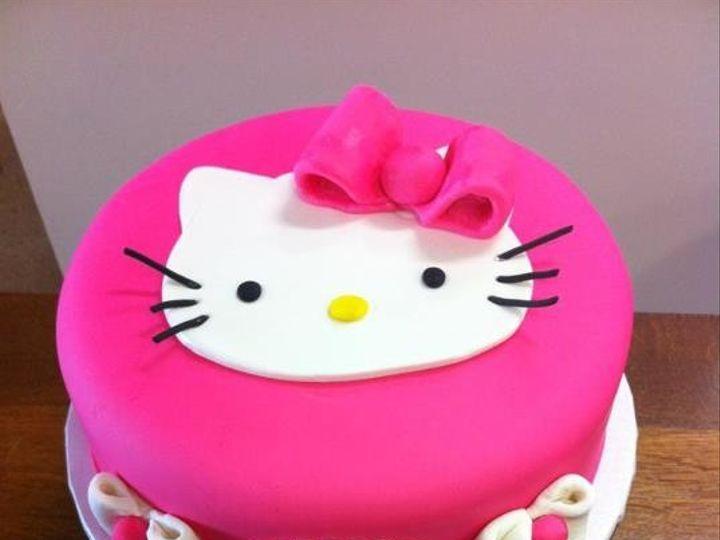 Tmx 1386883272612 Hello Kitt Quincy wedding cake