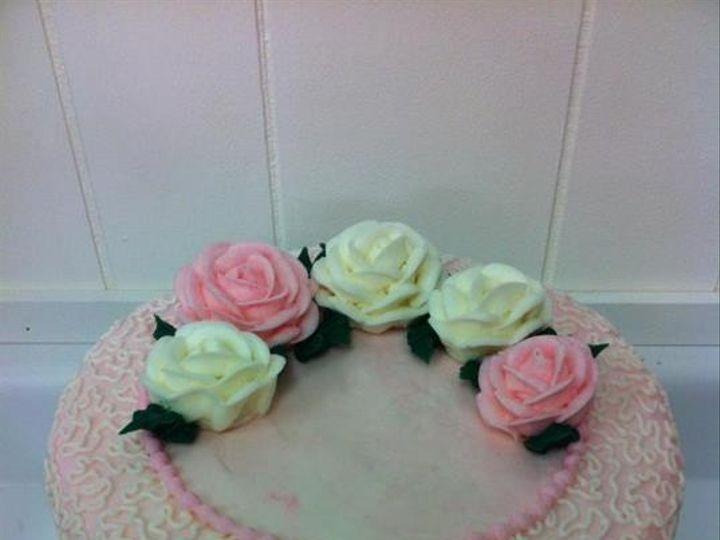 Tmx 1386883423172 Pretty In Pink Cornelli Lac Quincy wedding cake