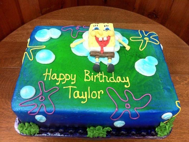 Tmx 1386883427136 Spongebo Quincy wedding cake