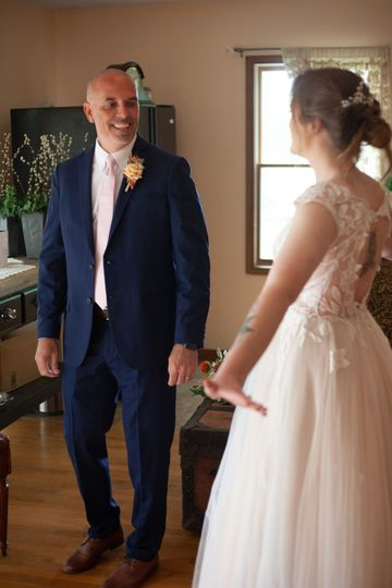 First look with dad