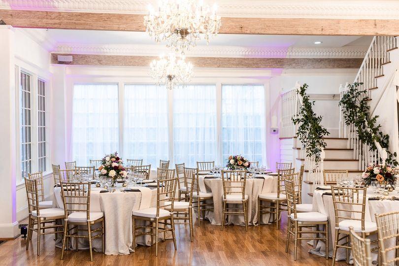 Dining room reception