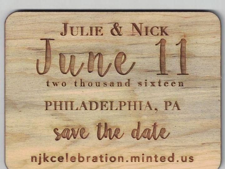 Tmx 1454687885365 Juliasavethedates Fort Collins wedding invitation