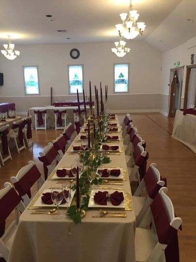Set up tables