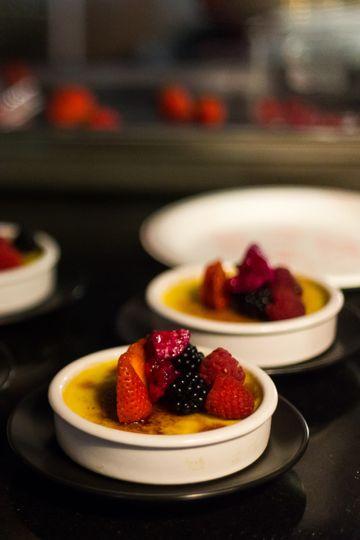 Berry Crème Brulée
