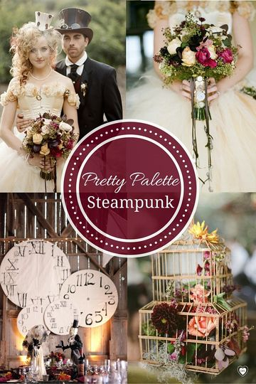 steampunk palette