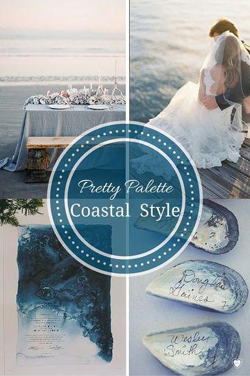 coastal style palette