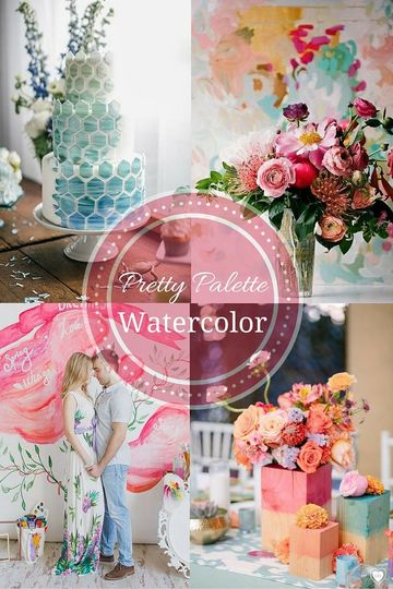 watercolor palette