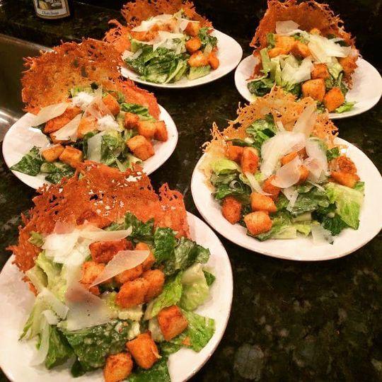 Parmesan Bowl Caesar Salad