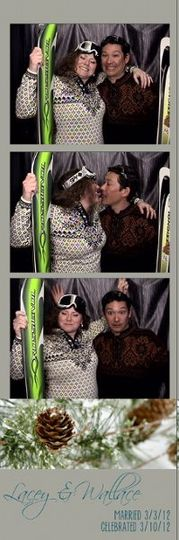 Lacey & Wallace's photo strip