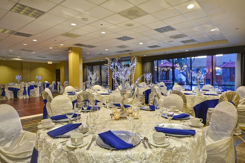 Customizable event space