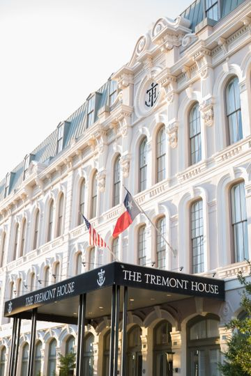 The Tremont House is the only hotel located in the heart of Galveston's historic downtown. Photo by...