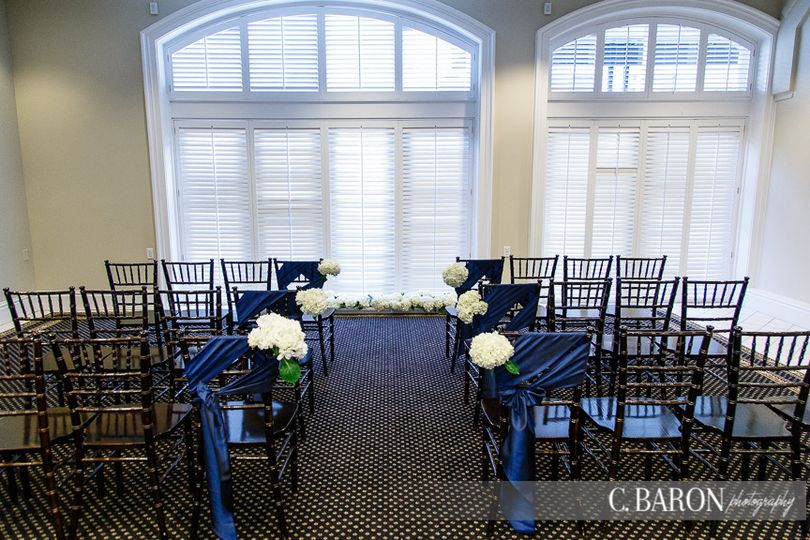 The Tremont House offers space for small ceremonies and large. Photo by C Baron Photography.