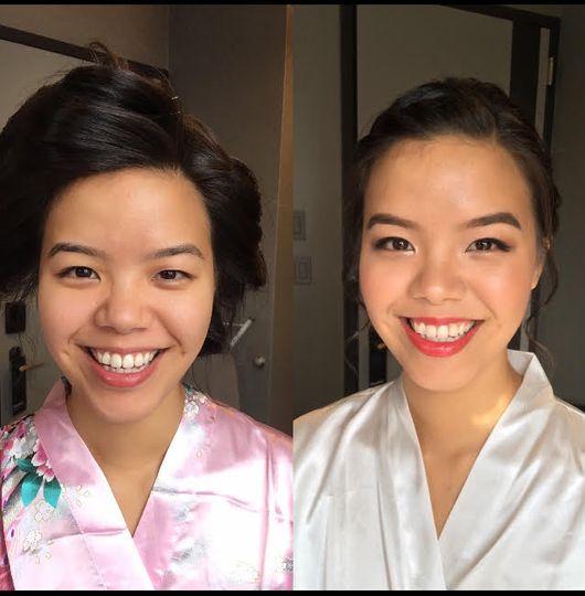 Akiyo hair & makeup