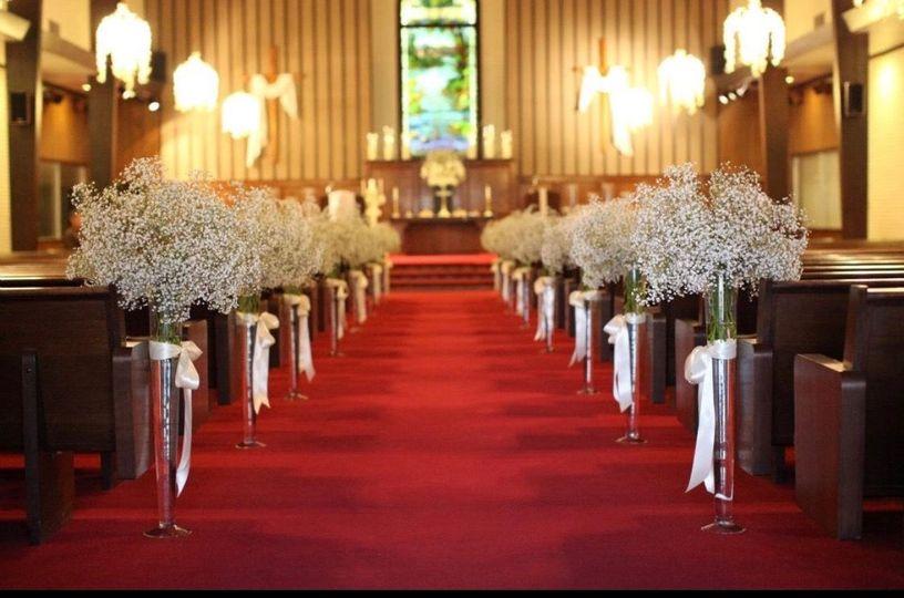 The aisle