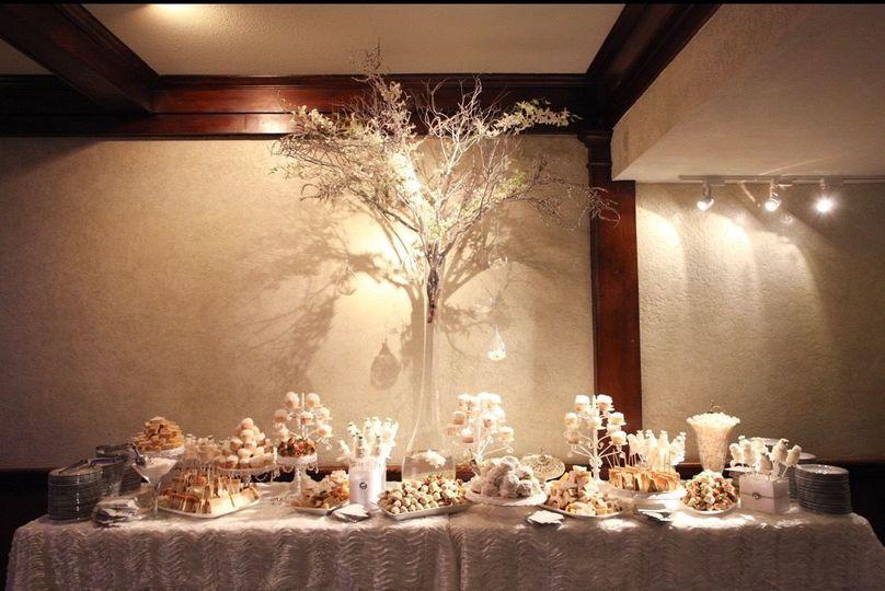 Wedding sweet buffet