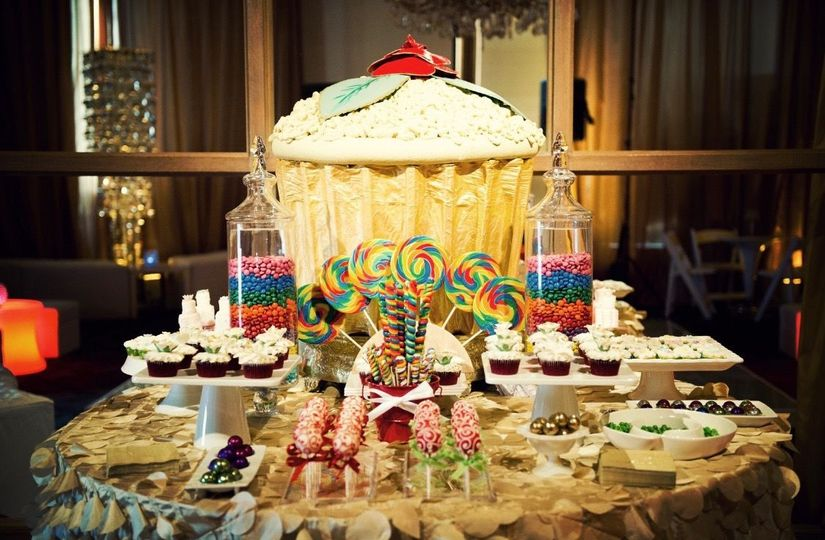 Personalized dessert bar