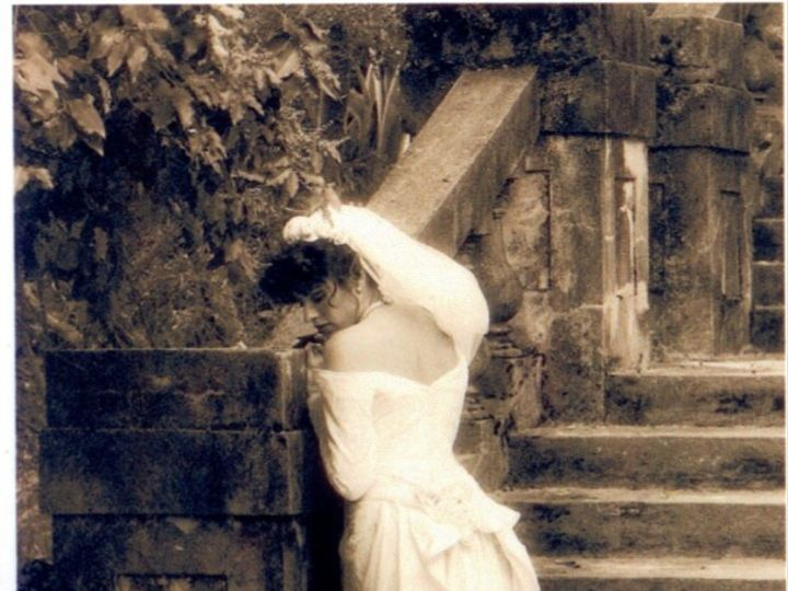 Tmx 1442519583621 Vintage Bride On Stairs Mill Valley, California wedding dress