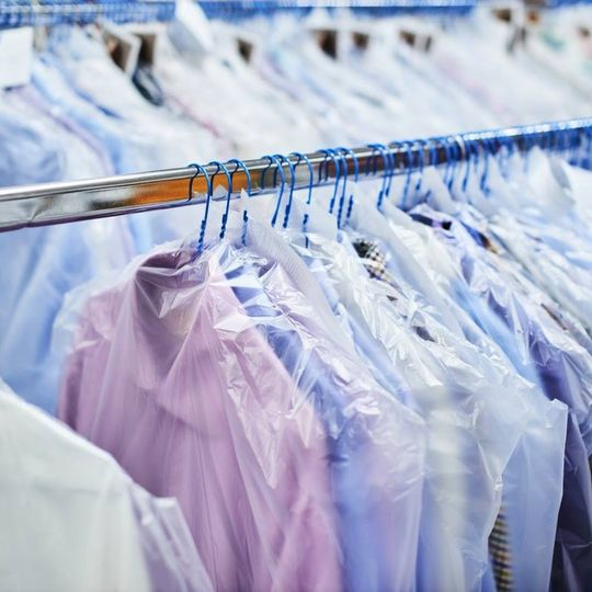 The dry cleaners