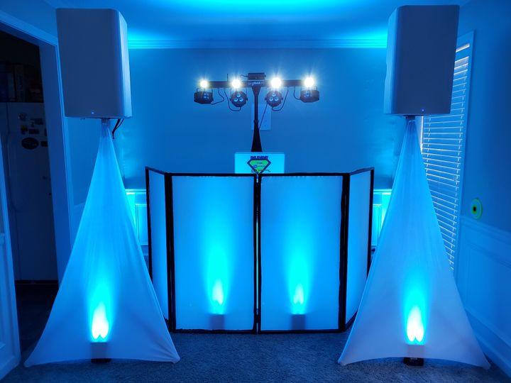Icy Blue setup