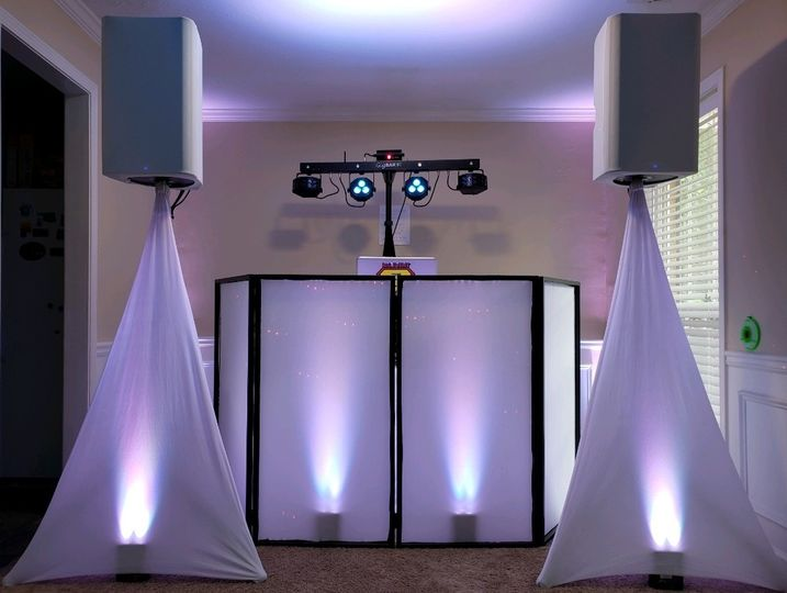 All-white setup
