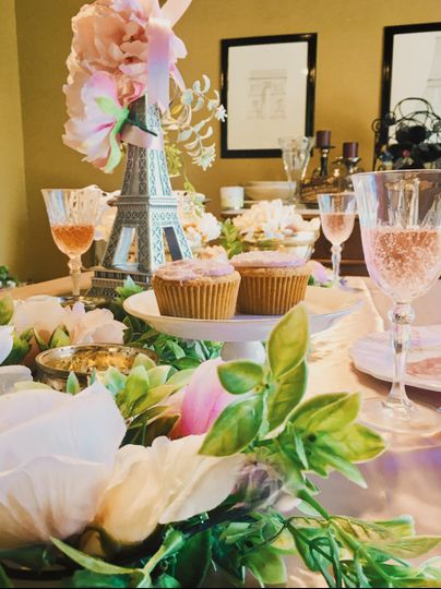 French-Themed Affair