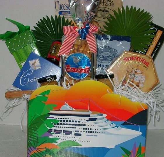 cruise ship theme basket