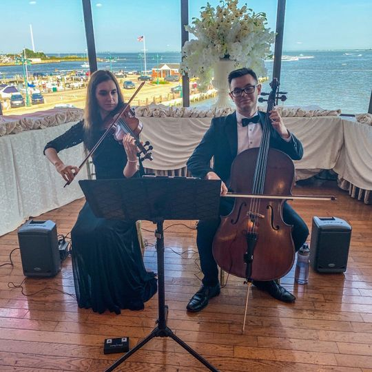 String Duo Crescent Beach Club
