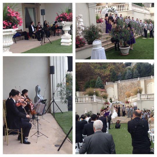 VSmusic4u NYC Wedding Musicians String Quartet String Trio Long Island NY Wedding Ceremony