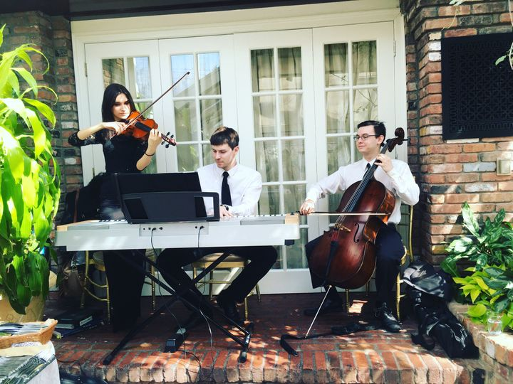 Trio piano violin cello