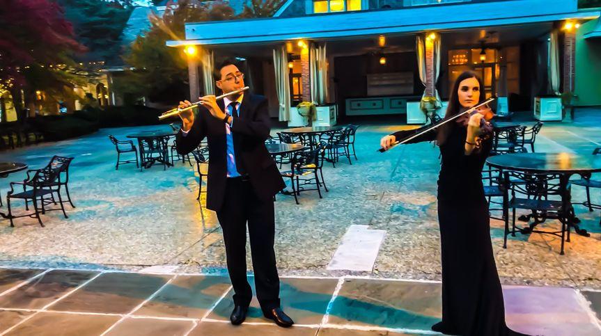 Duo violin flute