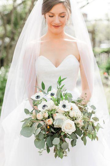 Gold Rush Bridal Bouquet