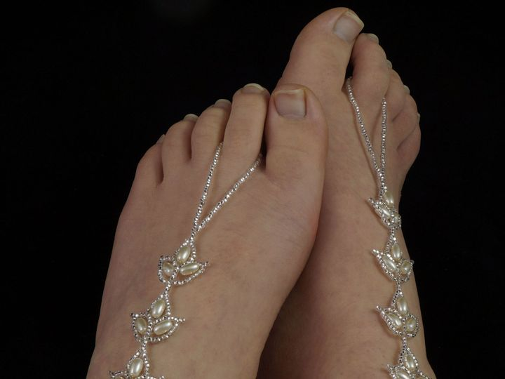 Tmx 1461855700186 Barefoot Sandals Bridal 1 Danbury wedding jewelry