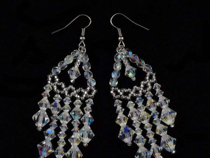 Tmx 1461856037845 Earrings Chandelier 1 Danbury wedding jewelry