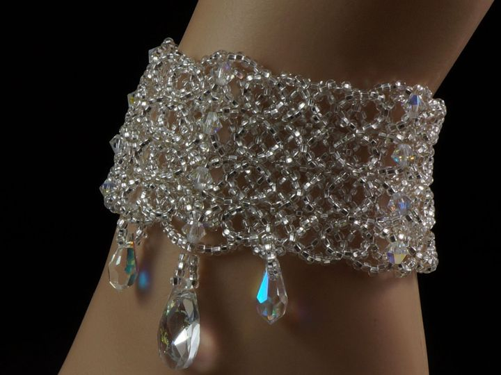 Tmx 1461858221978 Bracelet Cuff Swarovski Crystal 5 Danbury wedding jewelry
