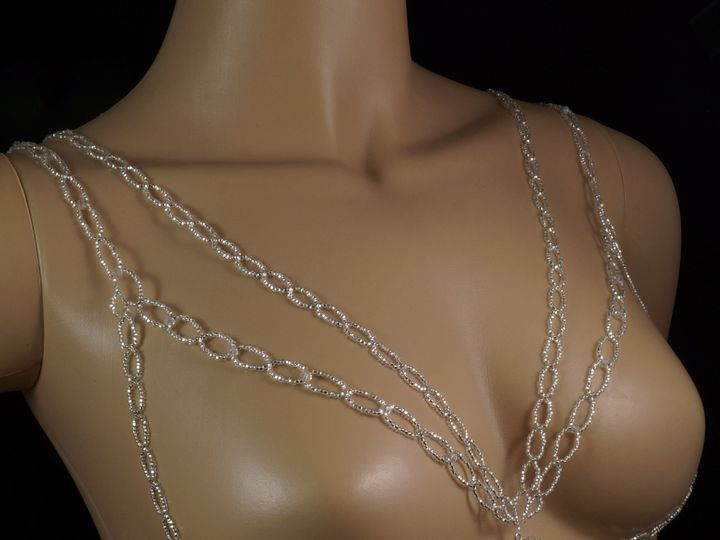 Tmx 1461957397132 Body Chain Beaded 1 Danbury wedding jewelry