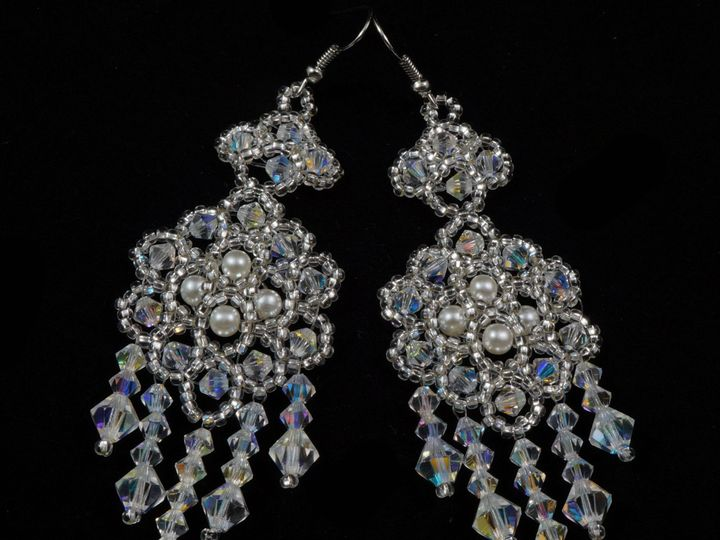 Tmx 1461957571718 Earrings Preciosa Crystal Beaded Bridal 1 Danbury wedding jewelry