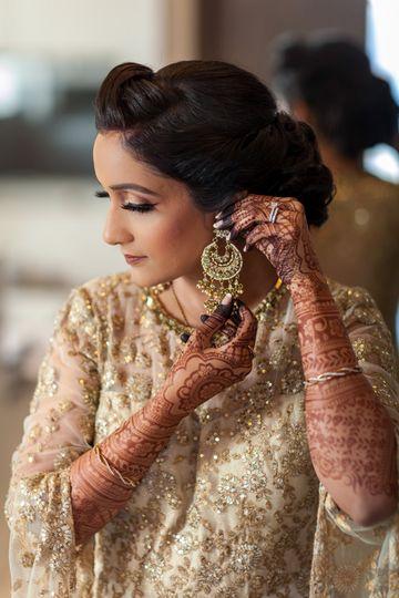 Indian Bride earings