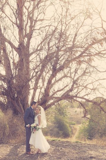 Such a cute couple...and such a rustic venue, we loved shooting at The Red Horse Barn!